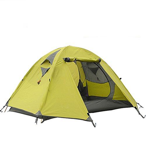 神話プレビスサイト許さないアウトドアテント2人キャンプテントバッグ のテント (色 : Green)