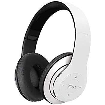 Klip Xtreme BlueBeats 2 Stereo Bluetooth Wireless Headphones with Microphone and SD Card slot-Headset controls-Foldable On-Ear Design-40mm Speaker ...