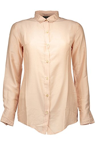 Las Camisa Fred Mujer Perry Rosa Largas Con 31202511 Mangas EzEIqU