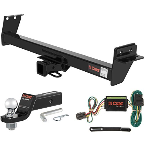 CURT Class 3 Hitch Tow Package with 2