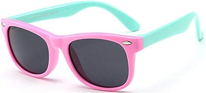 FOURCHEN Gafas de sol para niños, gafas de sol Kids Rubber ...