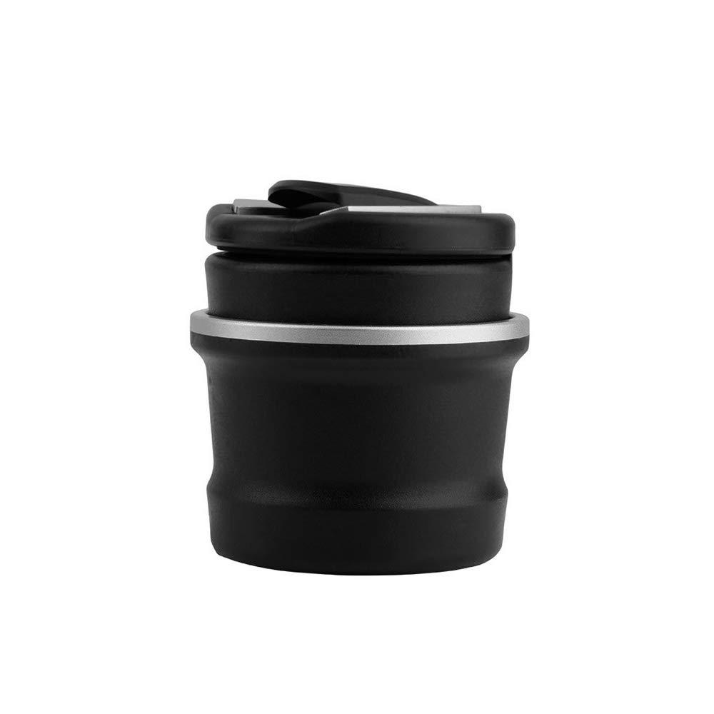 Ogquaton Cenicero para autom/óvil con luz LED Multifunci/ón cenicero automotriz para BMW Dedicated Car Accessories Black 1 Pcs