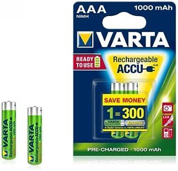 Varta Micro 5703 Nimh Rechargeable Aaa Battery 1 2 V Elektronik