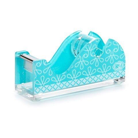 Roomlookz Acrylic Tape Dispenser Aqua