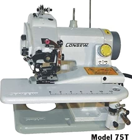 Amazon Consew Portable Blindstitch 40T Enchanting Blind Hemmer Sewing Machine Sale