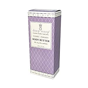 Deep Steep Body Butter Lavender Chamomile - 6 fl oz - pack of 1
