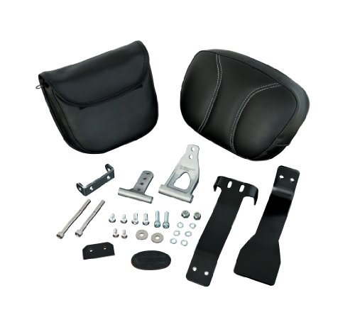 Show Chrome Accessories 41-158 Smart Mount Backrest Passenger Armrest Pouch