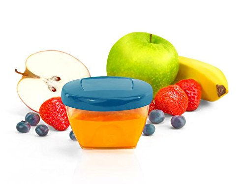 Babymoov Leak Proof Storage Bowls | BPA Free Containers with Lids, Ideal to Store Baby Food or Snacks for Toddlers (Pick Your Set Size)