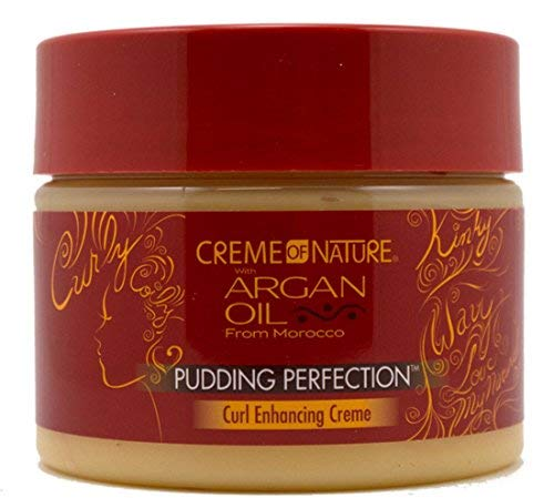 Creme of Nature Pudding Perfection With Argan Oil From Morocco, 11.5 oz (Pack of 4) (Creme Of Nature Argan Oil Pudding Perfection)