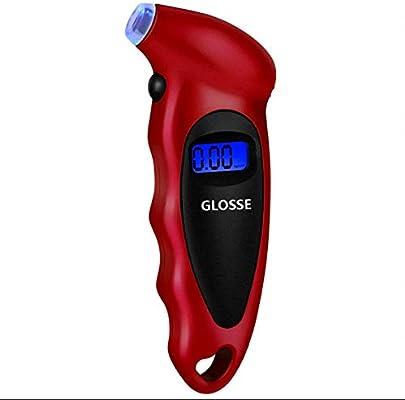 Medidor de presión de neumáticos GLOSSE Digital. Medidor de ...