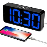 DreamSky 8.9 Inches Large Digital Alarm Clock with