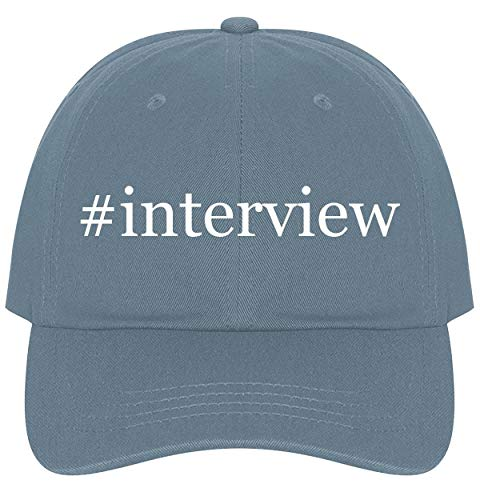 The Town Butler #Interview - A Nice Comfortable Adjustable Hashtag Dad Hat Cap, Light Blue, One Size