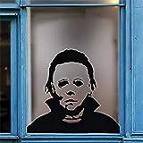 Zamango Halloween Wall Sticker Michael Myers Horror Halloween Window Decals Cars Trucks Vans Laptops Decoration