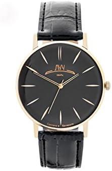 Wrist Watch Luch Classic Retro ollection Japanese Miyota Quartz Movement 1656M Ultra Thin Black Dial 60th
