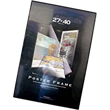 27x40 Movie Poster Frame Strong Pressboard Backing Black Vinyl Edges 27 x 40 Frame