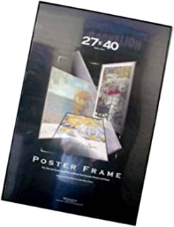 27x40 movie poster frame black vinyl edges 27 x 40 frame