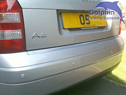 Auto Express Award Winning In 9 Colours Coal Grey Dolphin DMS400 Micro Size Reverse Parking Sensors