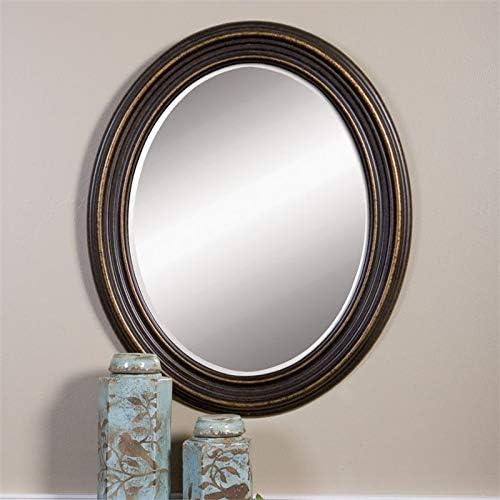Uttermost Ovesca Decorative Mirror in Dark Oil Rubbed Bronze
