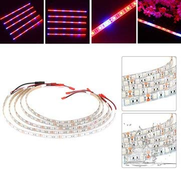 5PCS 50CM R:B 5:1 SMD5050 LED Strip Grow