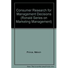 Consumer Research for Management Decisions