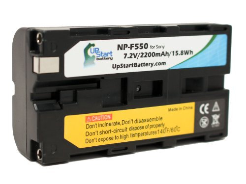 Replacement NP-F550 Battery for Sony NEX-FS700, NEX-FS100, HXR-NX5E,