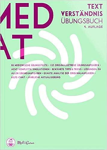 MedAT 2019 Textverständnis: Übungsbücher zur Vorbereitung