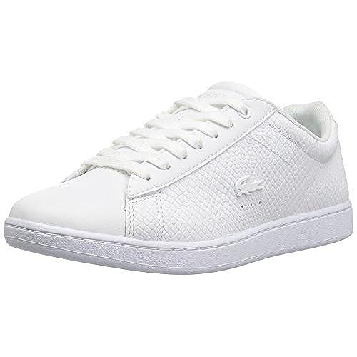 095282912 Lacoste Women s Carnaby Evo 317 3 Fashion Sneaker