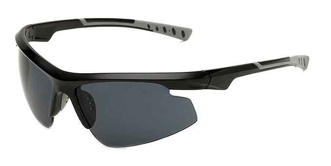 Fuyingda Hommes lunettes de soleil légères professionnelles de vélo, lunettes extérieures UV400, lunettes de soleil non-polarisées, lunettes anti-éblouissantes