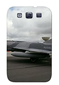 Galaxy S3 Scratch-proof Protection Case Cover For Galaxy/ Hot Aircraft Army Aack Dassault Fighter French Jet Military Navy Marine Super Etendard Phone Case