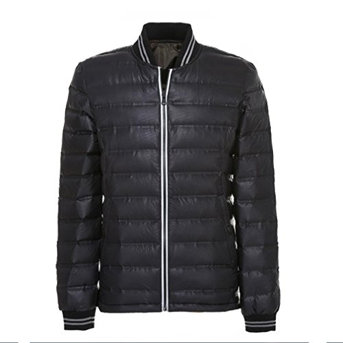 Wear thin Coat New Stand jacket The Light Black Collar Men Sides YANXH Both and Down IgvwIq1