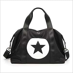 BEESCLOVER Sports Bag Large Capacity Handbag Luggage Travel Nylon Duffle Bags Nylon Weekend Multifunctional Gym Bag Fitness Travel 3 One Size