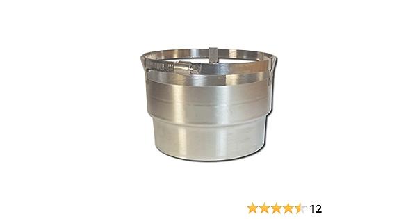 5.5 x 15 Stainless Steel Flexible Chimney Liner Insert Kit by Rockford Chimney Supply