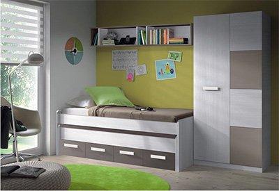 Camere Da Letto Giovanili : Mobimarket camera giovanile composta da letto amazon casa e