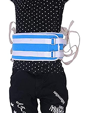 QEES - Cinturón de sujeción para cama suave, cinturón acolchado para silla de ruedas,