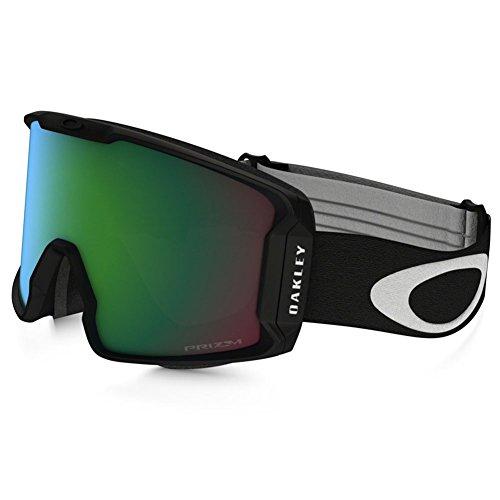 Oakley Men's Line Miner Snow Inferno Goggles, Matte Black, Prizm Jade Iridium, - Scratch Sunglasses Resistant Oakley