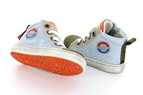 Shoesme UR5S030 Urban Jungen Sneaker in Hellblau Gr. 22-28