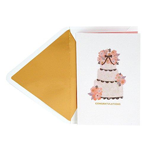 Wedding Cake Card - Hallmark Signature Wedding Greeting Card (Wedding Cake)