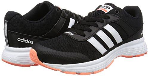 adidas CLOUDFOAM VS CITY W - Zapatillas de deporte para Mujer, Negro - (NEGBAS/FTWBLA/CORSEN) 36