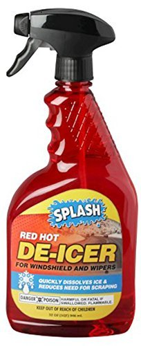 Splash Red Hot De-icer Windshield Trigger Spray, 32 Ounces