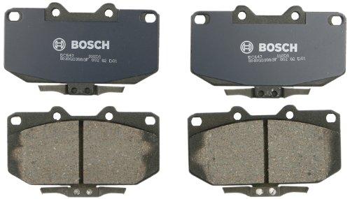 (Bosch BC647 QuietCast Premium Ceramic Disc Brake Pad Set For 1994-1996 Nissan 300ZX; Front)