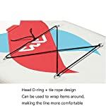 ZDW-Gonfiabile-Windsurf-Set-Tavola-da-surf-Windsurf-Bordo-di-pala-Stand-up-Paddle-gonfiabile-Consiglio-Stabilizzatori-integrati-Extra-piattaforma-larga-fibra-di-vetro-Paddle