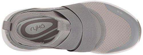 Women's Elita Silver Shoe Grey Cross Ryka Trainer dP5FxZPq