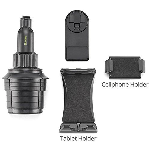 Amazon.com: iKross Smartphone / Tablet Cup Mount Holder Car ...
