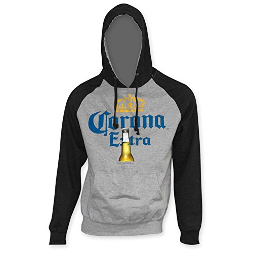 Corona Extra Black Sleeve Hoodie