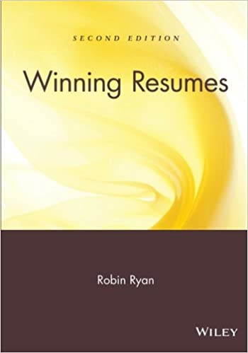 Winning Resumes 2nd Edition 0723812263653 Business Communication