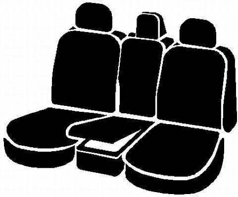 Front Split Seat 40//20//40//Neoprene Center Panel FIA NP97-17 Black with Gray Cover