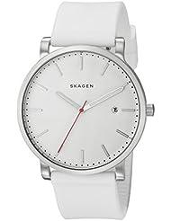 Skagen Mens SKW6345 Hagen White Silicone Watch