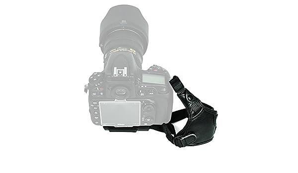 60D 1D X 70D EOS 6D 7D 60Da EOS 80D Foto/&Tech 3 PCS Professional Leather Hand Wrist Strap Grip Compatible with Canon EOS 5D Mark IV III II T6i T5i T4i T3i T2i T1i SL1