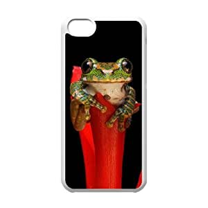Frog DIY Cover Case for Iphone 5C,personalized phone case ygtg531303