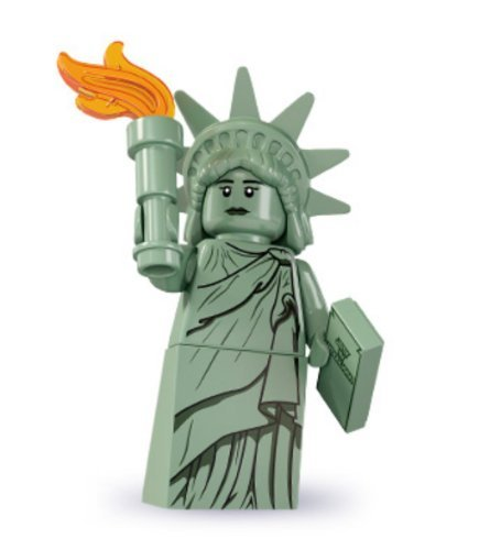 Lego Minifigures Series 6 Lady Liberty Collectible Figure Ny Statue Of Liberty National Monument Freedom